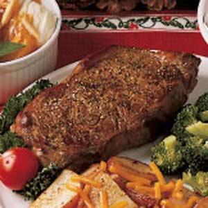Lemon Pepper Steak Recipe