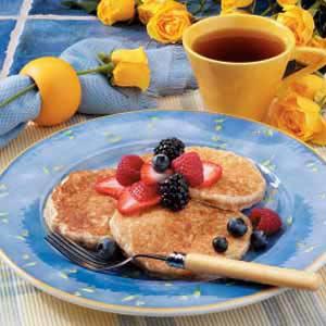 Hearty Oatmeal Pancakes Recipe