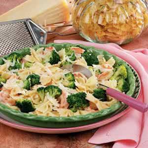 Broccoli Shrimp Pasta Toss Recipe