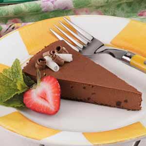 Light Chocolate Cheesecake Recipe