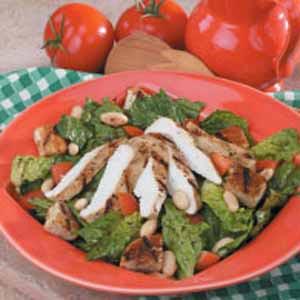 Italian Grilled Chicken Salad Recipe