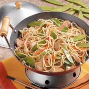 Chinese Chicken Spaghetti Recipe