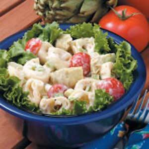 Tortellini Artichoke Salad Recipe