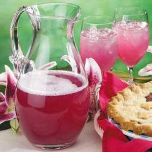 Sparkling Rhubarb Spritzer Recipe