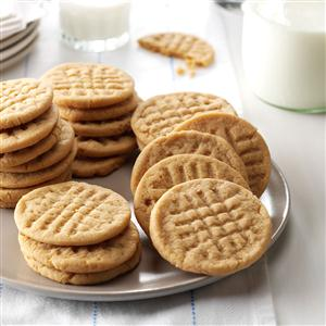 Low-Fat Peanut Butter Cookies Recipe
