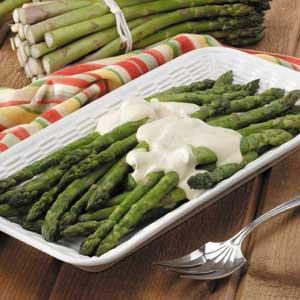 Asparagus with Mustard Sauce Recipe