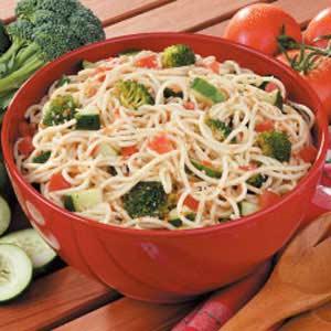 Supreme Spaghetti Salad Recipe