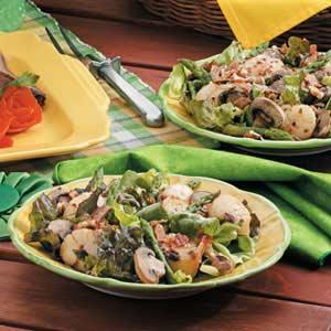 Grilled Scallop Salad Recipe