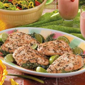 Rosemary Lime Chicken