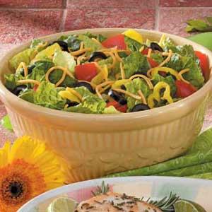 Zesty Garden Salad Recipe