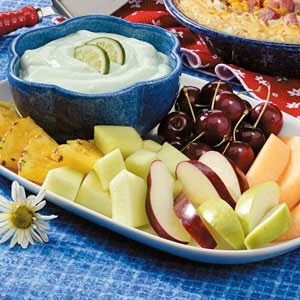 Lime Fruit Dip