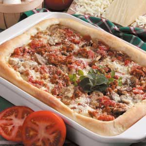 Chicago-Style Pan Pizza Recipe