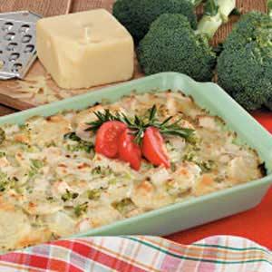 Turkey Potato Tetrazzini Recipe