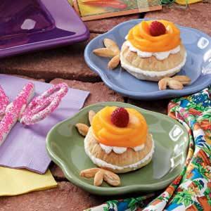 Flowering Peach Puffs Recipe