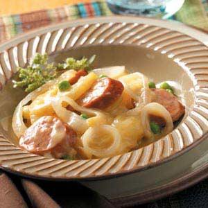 Potato Sausage Supper Recipe