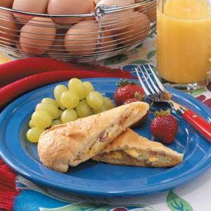 Ham n Egg Pockets Recipe