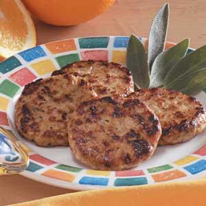 Chicken Sausage Patties Recipe