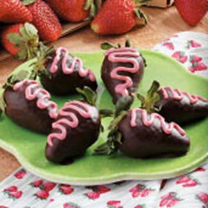 Chocolate-Dipped Strawberries Recipe