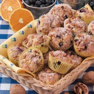 Contest-Winning Orange Blueberry Muffins Recipe