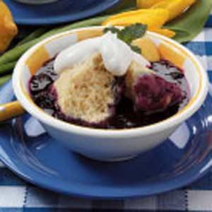 Blueberries 'n' Dumplings Recipe