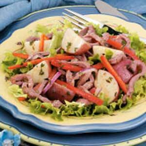 Roast Beef Potato Salad Recipe