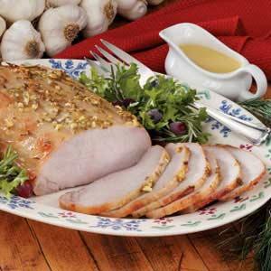 Honey-Mustard Pork Roast Recipe