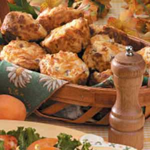 Ham N Cheese Muffins Recipe