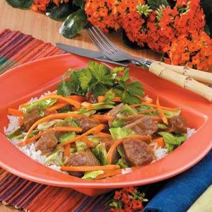 Asian Pork Cabbage Stir-Fry Recipe