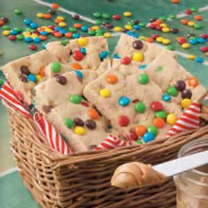 Candy Chip Bar Cookies Recipe