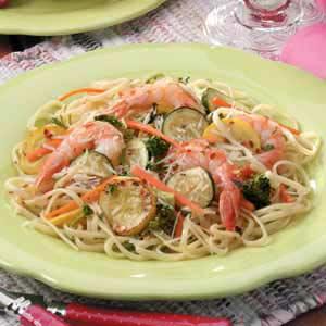 Zippy Shrimp Linguine Recipe