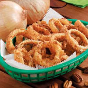 Cornmeal Onion Rings Recipe