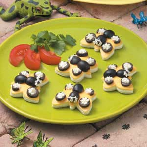 Butterfly Cheese Sandwiches Recipe