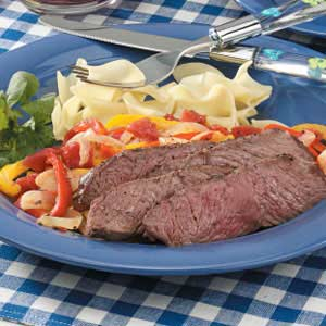 Italian Pepper Steak Recipe