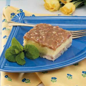 Cheesecake Praline Squares Recipe