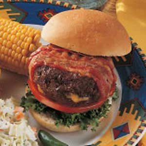 Stuffed Bacon Burgers Recipe