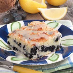 Coconut Blueberry Cake Recipe