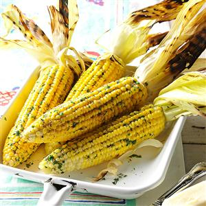 Grilled Corn with Dill Recipe