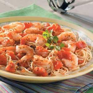 Italian Shrimp and Pasta Recipe