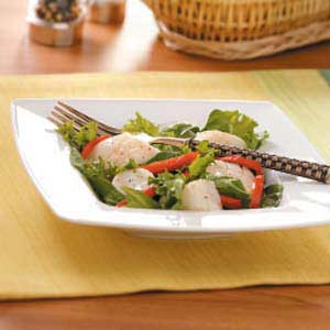 Warm Scallop Salad Recipe
