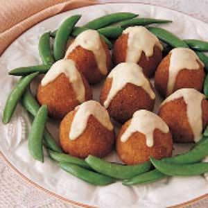 Golden Ham Croquettes Recipe