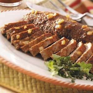 Honey-Herb Pork Tenderloin Recipe