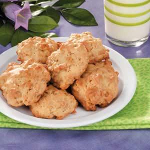Makeover Coconut Cookies Recipe