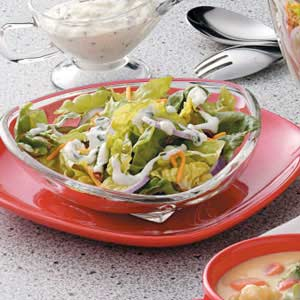 Bacon-Chive Tossed Salad Recipe