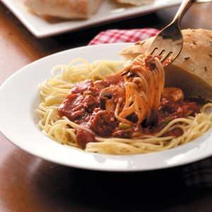 Beef Spaghetti Sauce Recipe