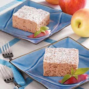 Honey Spice Snack Cake Recipe