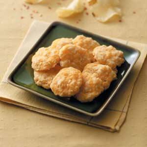 Crunchy Cheese Crisps Recipe