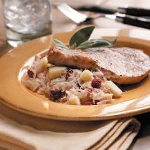 Cran-Apple Sauerkraut Recipe