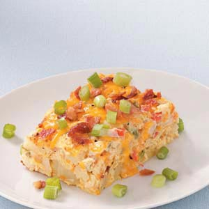 Egg and Potato Casserole Recipe