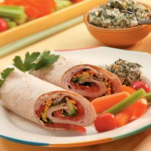 Avocado Turkey Wraps Recipe