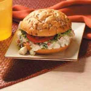 Ranch Chicken Salad Sandwiches Recipe